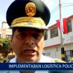 Piura: Implementarán logística policial para mejorar seguridad