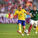 México perdió ante Suecia pero consigue su boleto a octavos de final del Mundial