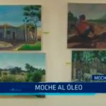 Pinturas de lienzo al óleo en Moche