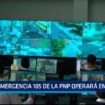 Trujillo: Emergencia 105 de la PNP operará en la CMT