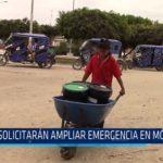 Chiclayo: Solicitarán ampliar emergencia en Mórrope