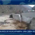 Piura: Muros de Hualapampa no sirven