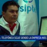 OSIPTEL: Telefónica sigue siendo la empresa más quejada