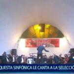 Piura: Orquesta sinfónica le cantó a la selección peruana