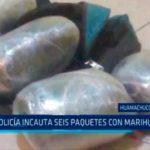 La Libertad: Policía incauta seis paquetes con marihuana