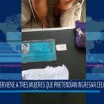 Chiclayo: Intervine a tres mujeres que pretendían ingresar celulares al penal