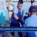 Chimbote: 10 Pescadores fallecidos durante temporada de pesca