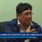 Omar Zavaleta: Pide cambio de gerentes que no cumplen con perfil