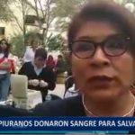 Piura: Piuranos donaron sangre