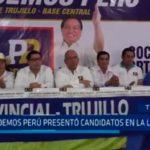 Podemos Perú presentó candidatos en La Libertad