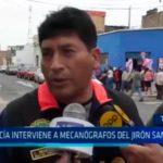 Trujillo: Policía interviene a mecanógrafos del jirón San Martín