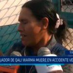Trabajador de Qali Warma muere en accidente vehicular