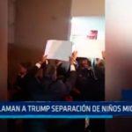 USA: Reclaman a Trump separación de niños migrantes