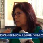"""Regidora pide sanción a empresa """"Nuevo Cortijo"""""""