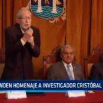Rinden Homenaje a investigador Cristóbal Campana
