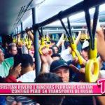 """Nacional: Cristian Rivero e hinchas peruanos cantan """"Contigo Perú"""" en transporte de rusia"""