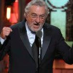Robert de Niro insultó a Trump en Premios Tony