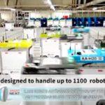 """1.100 robots autónomos que """"hablan"""" por 4G y procesan 65.000 pedidos a la semana"""