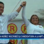 Trujillo: Rosa Nuñez inscribió su candidatura a la MPT ante el JEE