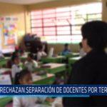 Chiclayo: Rechazan separación de docentes por terrorismo