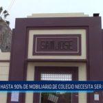 Chiclayo: Hasta 90% de mobiliario de colegio necesita ser cambiado