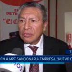 """Piden a MPT sancionar a empresa """"Nuevo Cortijo"""""""
