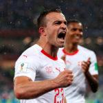 Suiza le gana a Serbia 2-1 y se acerca a los octavos de final