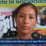 Piura: Hasta la fecha se registran 850 denuncias de maltrato a la mujer