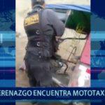 Piura: Serenazgo de Castilla encuentra mototaxi robada