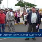 SUTER cuestiona contratación de docentes por huelga
