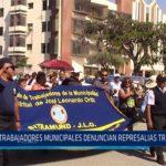 Chiclayo: Trabajadores municipales denuncian represalias tras huelga