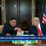 Singapur: No más maniobras militares con Corea del Sur