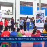 UCV realiza Feria de Proyección Social en colegio Encinas