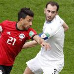 Rusia 2018: José María Giménez le da a Uruguay la victoria ante Egipto