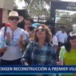 Piura: Vecinos de Miraflores exigen reconstrucción a Premier