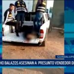 La Libertad: De ocho balazos asesinan a presunto vendedor de drogas