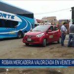 Chiclayo: Roban mercadería valorizada en veinte mil soles