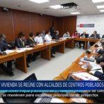 Chiclayo: Vivienda se reúne con alcaldes de centros poblados de Olmos