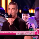 Robbie William cantará en la inauguración del Mundial Rusia 2018
