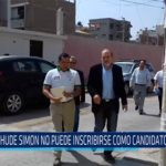 Chiclayo: Yehude Simon no puede inscribirse como candidato regional