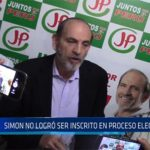 Chiclayo: Simon no logro ser inscrito en proceso electoral