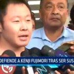 Yika defiende a Kenyi Fujimori tras ser suspendido