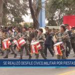 Chiclayo: Se realizó desfile cívico militar por fiestas patrias