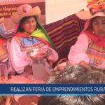 Chiclayo: Realizan feria de emprendimientos rurales