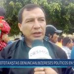 Chiclayo : Mototaxistas denuncian intereses políticos en su contra