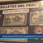 Chiclayo: Inauguran exposición de numismática en Chiclayo