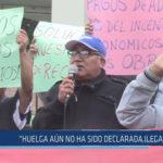 """Chiclayo: """"Huelga aún no ha sido declarada ilegal"""""""