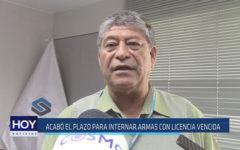 Chiclayo : Acabó el plazo para internar armas con licencia vencida