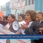 Chiclayo : Trabajadores de ESSALUD anuncian huelga para agosto
