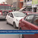 Chiclayo: Bomberos tienen serios problemas para atender emergencias